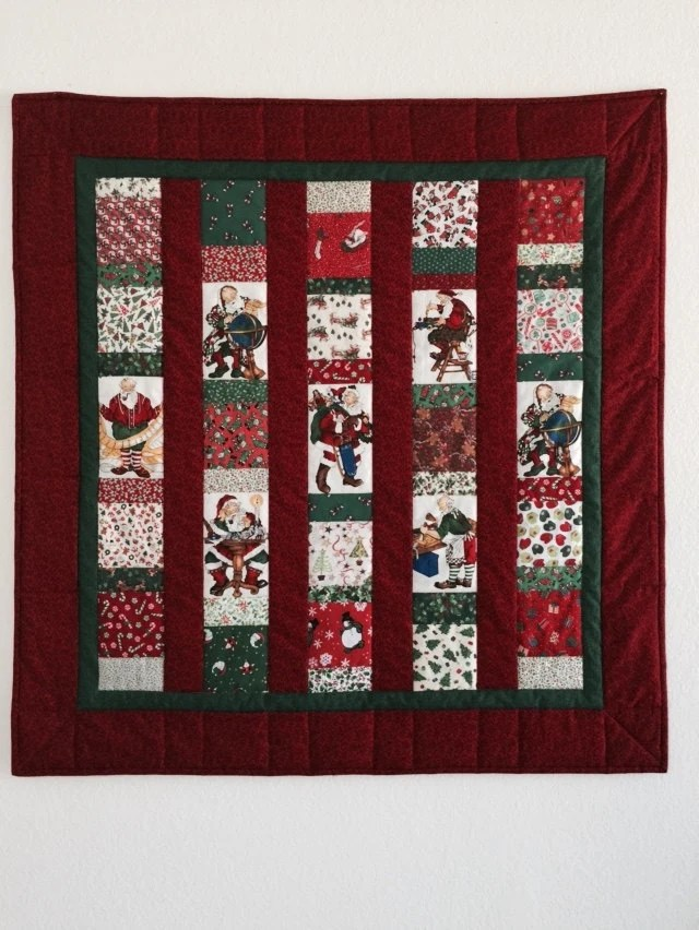 Pinterest Christmas Quilted Wall Hangings Christmas Baby Quilt Christmas Quilts Handmade Christmas Quilts For Sale Santa Quilt Christmas Quilt Wall Hanging Red Quilt Baby Quilts
