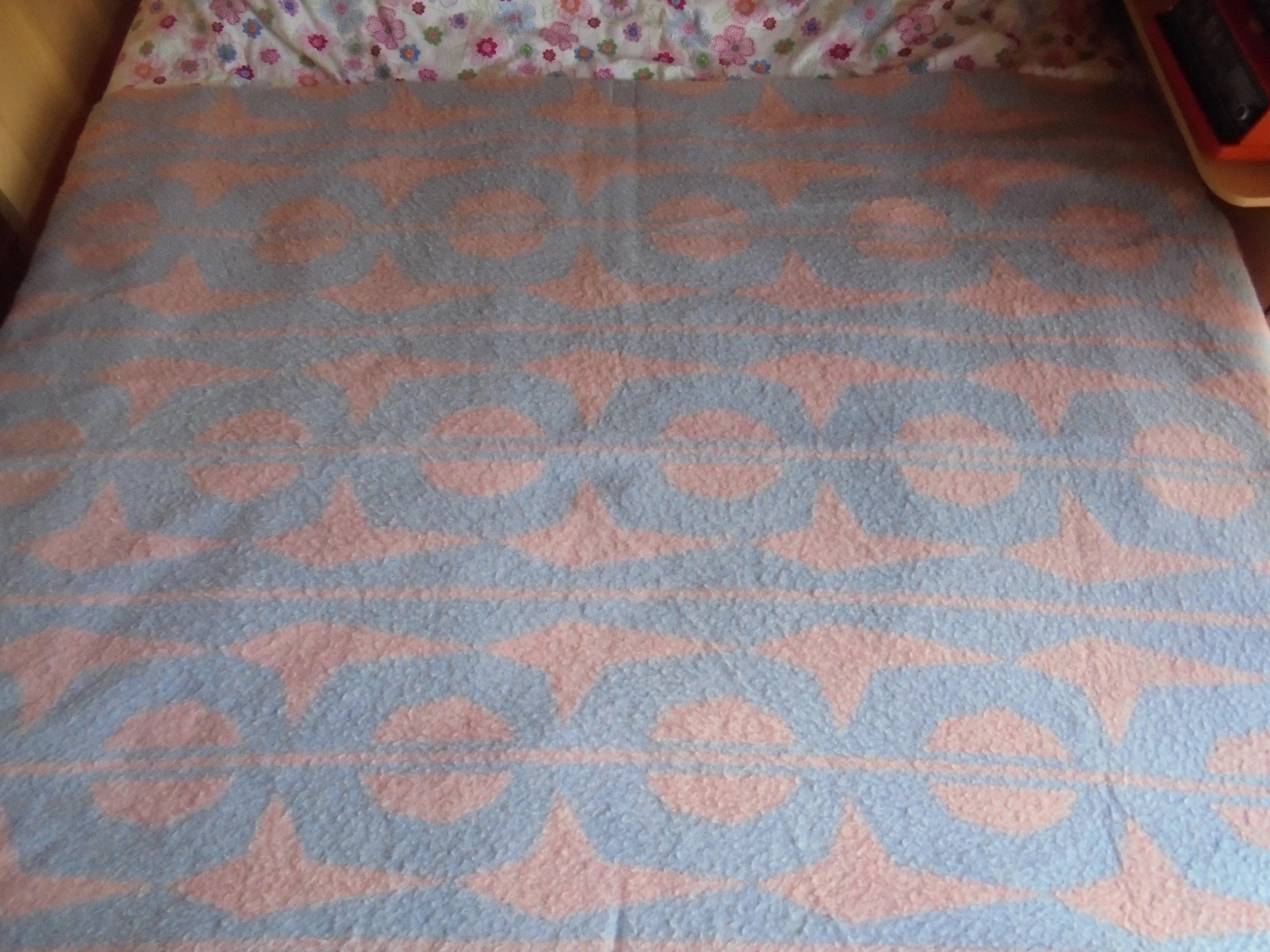 Bettdecken Holland Vintage Holland Blanket Deken Bettdecke Couverture Pure Wool 100 Virgin Wool 1960s Throw