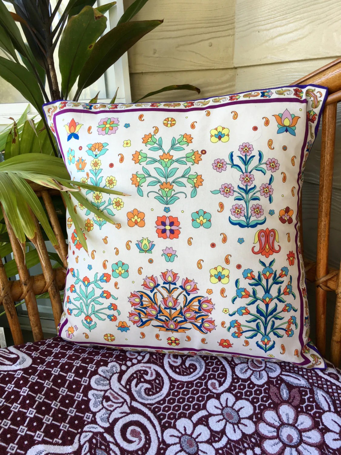Boho Cushions Australia Boho Cotton Cushion Cover Moroccan Style Made In Australia