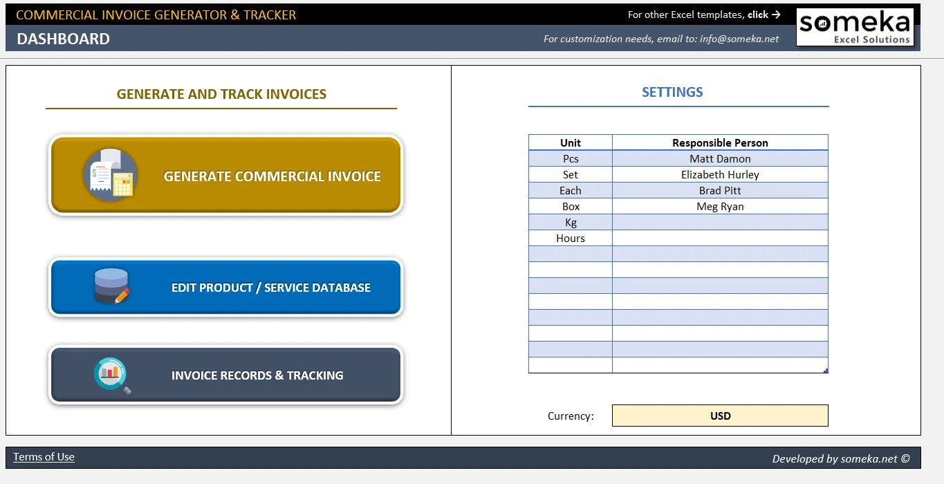Packing List Generator  Tracker Business Tools Excel Etsy