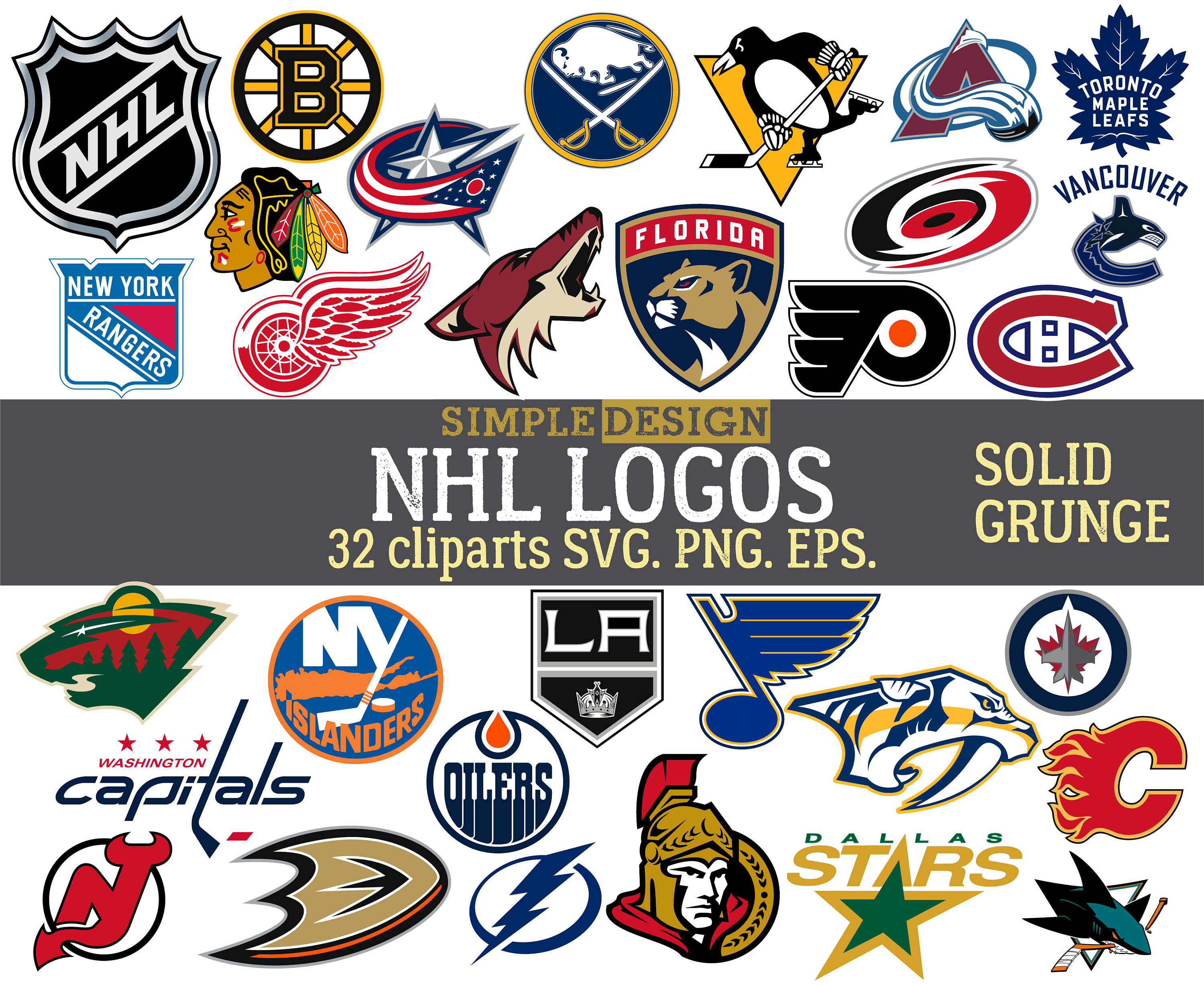 Hockey Logos Nhl Logos Svg Hockey Svg American Hockey Svg Nhl Hockey Logo Grunge Distressed Hockey Team Svg