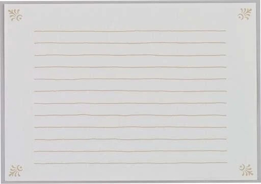 Writing Pad Horizontal Ruled Lines A5 Size Letter Pad Etsy