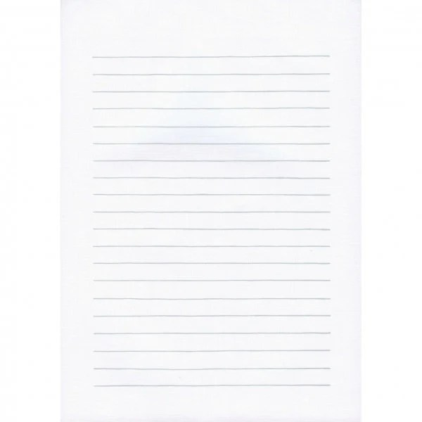 Writing Pad Horizontal Ruled Lines B5 Size Letter Pad Etsy