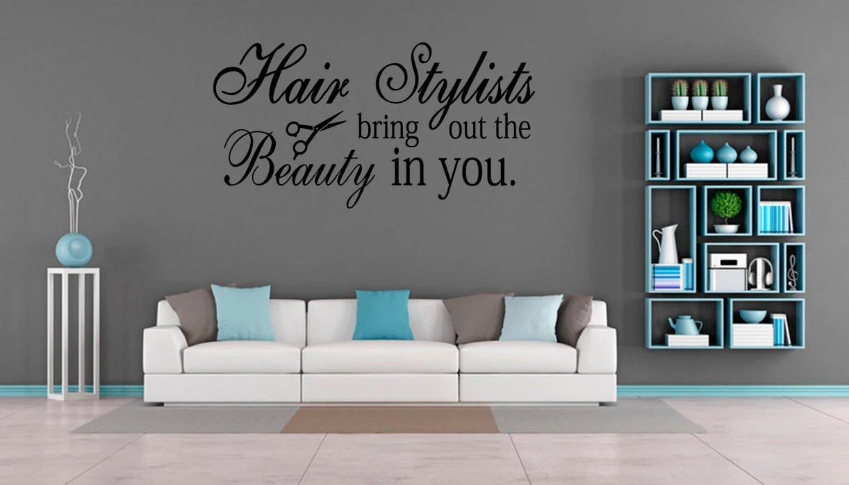 Salon Inspiration Inspiration Art Wall Decal Hair Salon Stylists The Beauty Quote Vinyl Shop Decor Hair Stylists Bring Out The Beauty In You Fa49