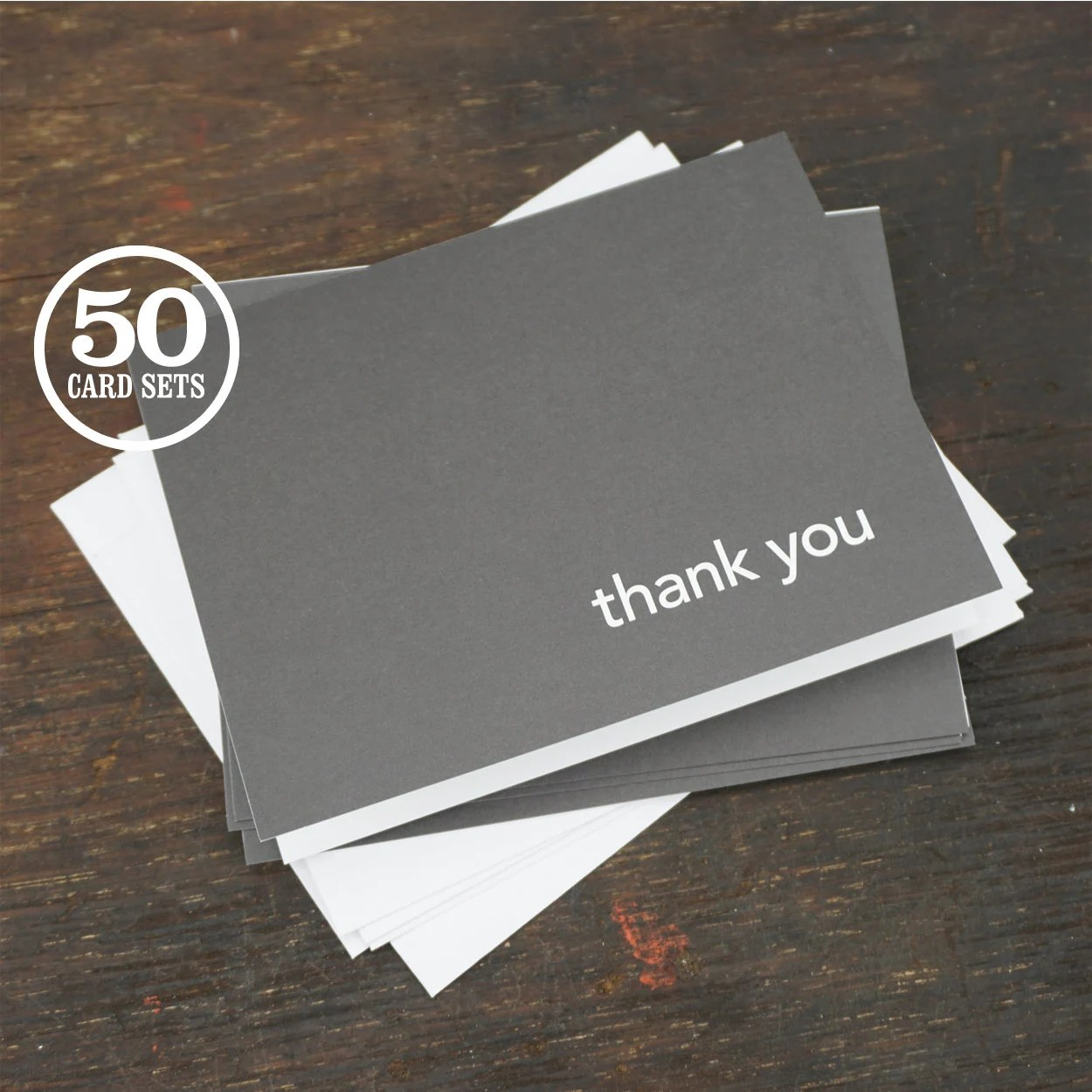 Thank You Note Cards with Envelopes A2 Size 425 x 55 Inch Etsy