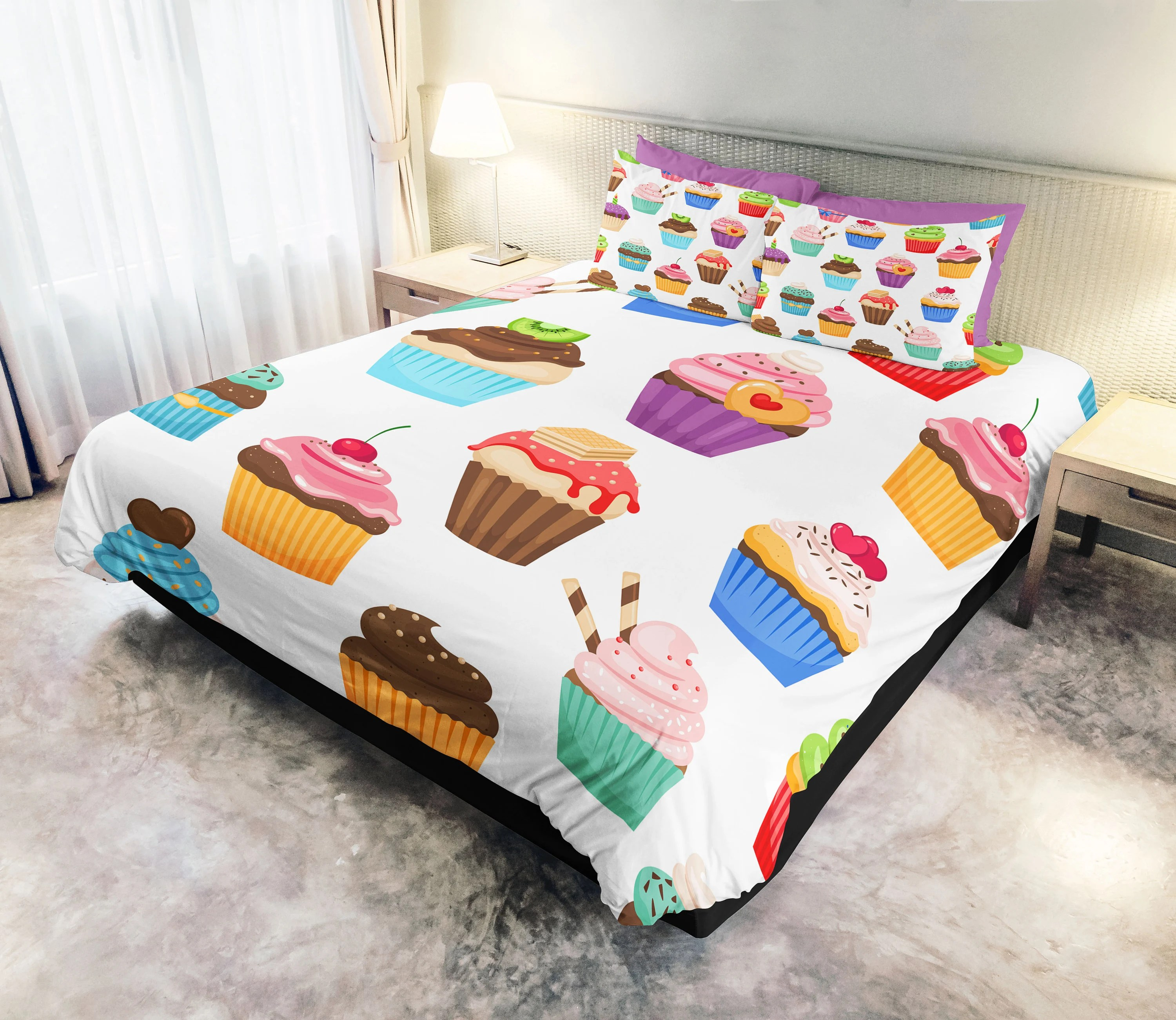 Bettwäsche Cupcake Cupcake Duvet Kids Bedding Cupcake Kids Bedding