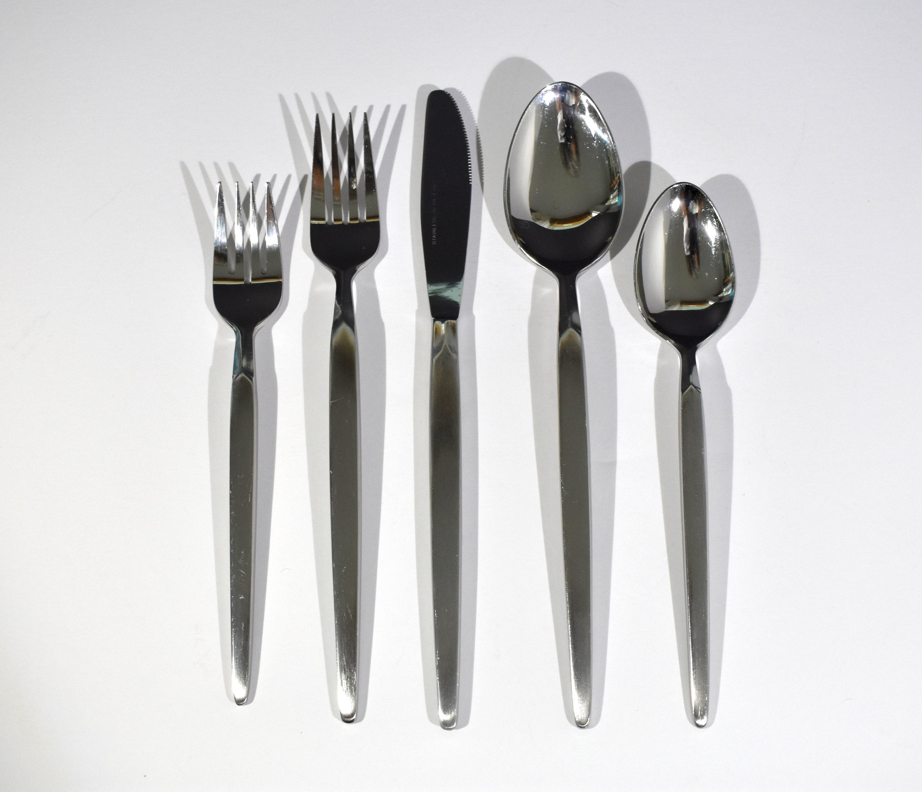 Used Flatware For Sale Mid Century Stanley Roberts For Dalton Flatware Windrim Pattern