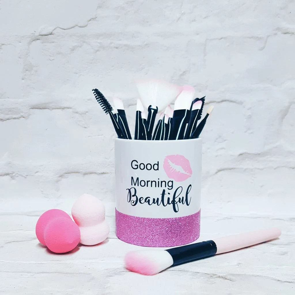 Aufbewahrung Make Up Pinsel Make Up Pinsel Halter Good Morning Schönes Make Up Pinsel