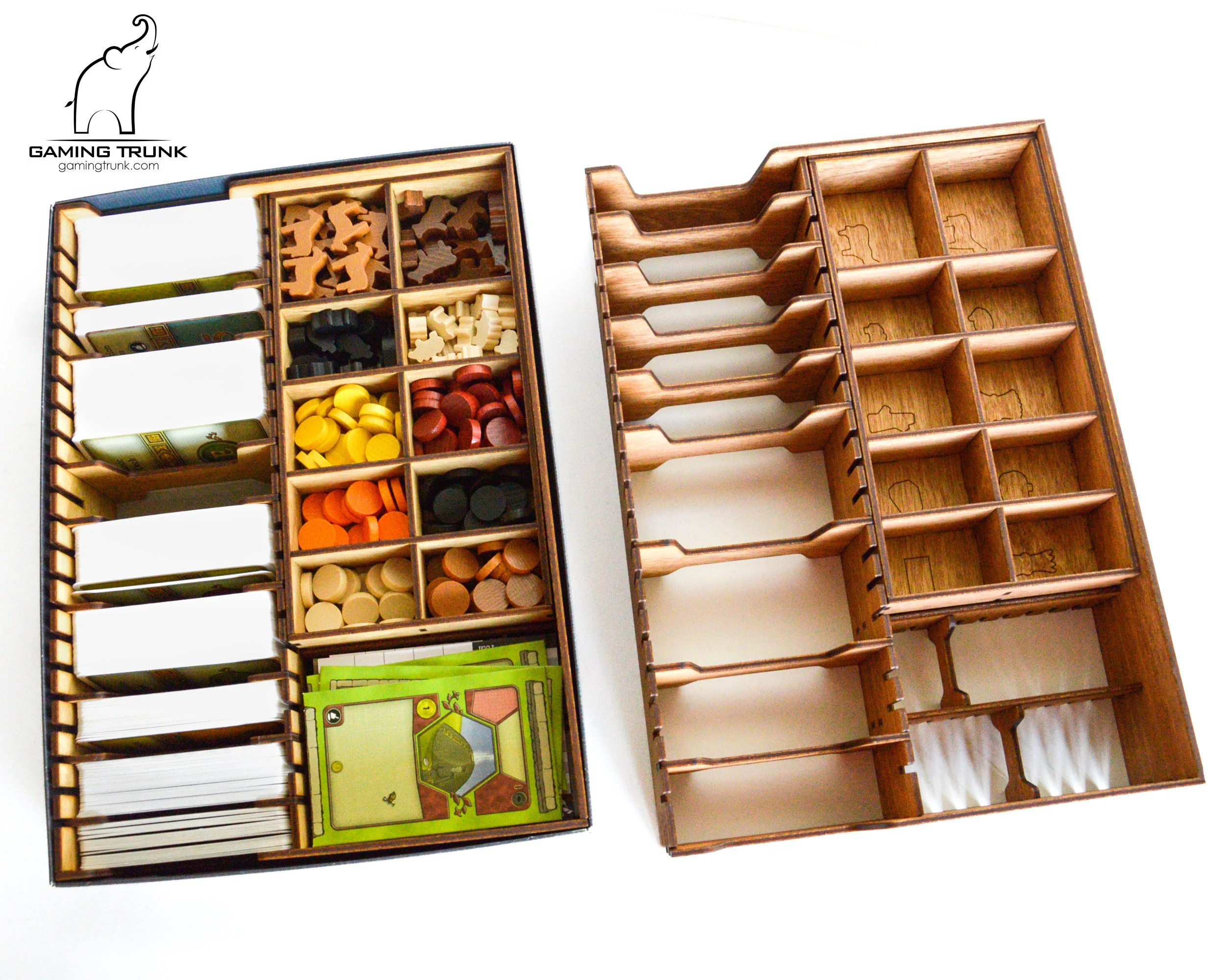 Organizer 2016 Organizer For Agricola Board Game Agricola Insert Agricola Box Board Game Organizer Board Game Insert Wooden Organizer