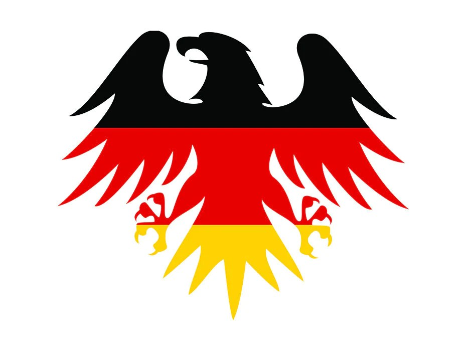 Germany German Flag Eagle Europe Country World National Nation Etsy