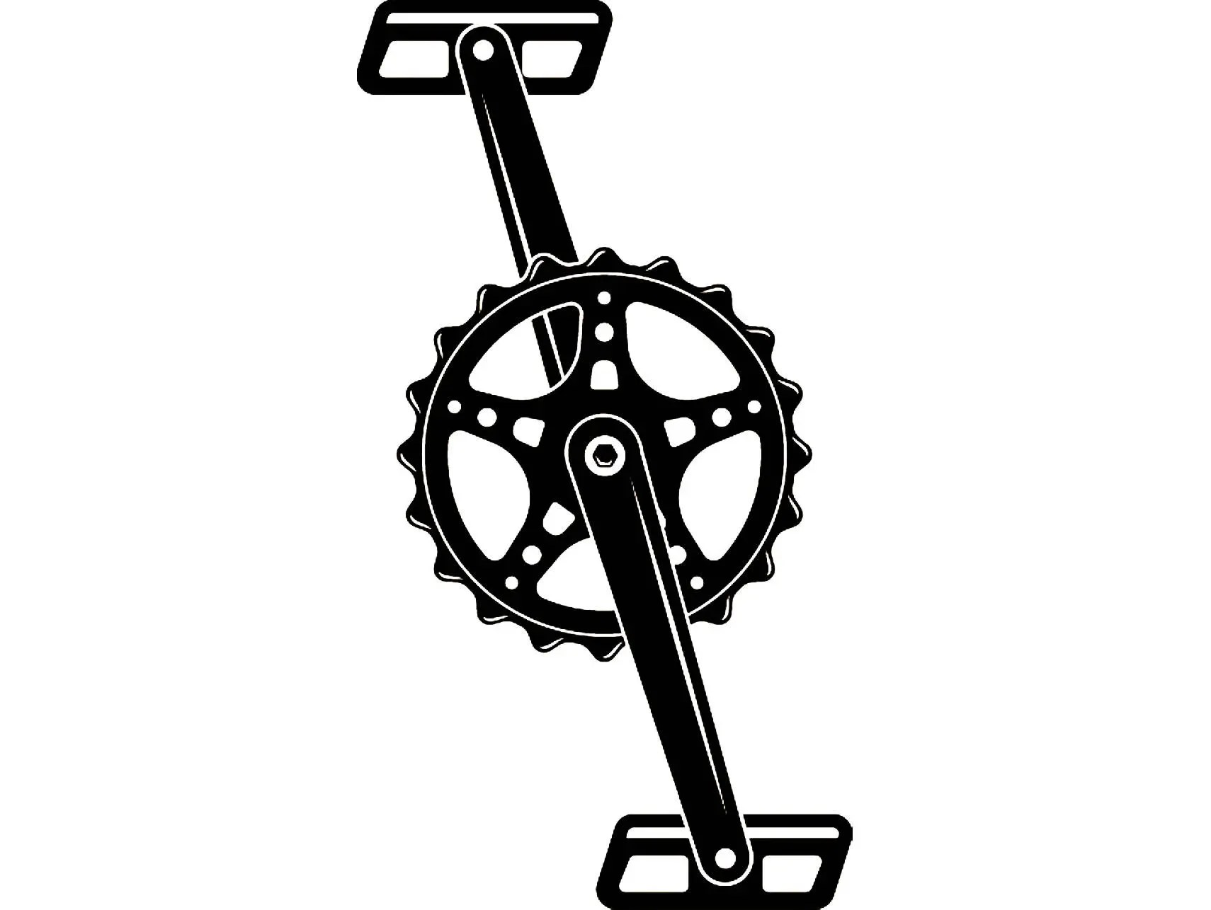 Racing Bicycle Clipart Bicycle Crank 1 Pedal Cycle Cycling Bike Beach Cruiser