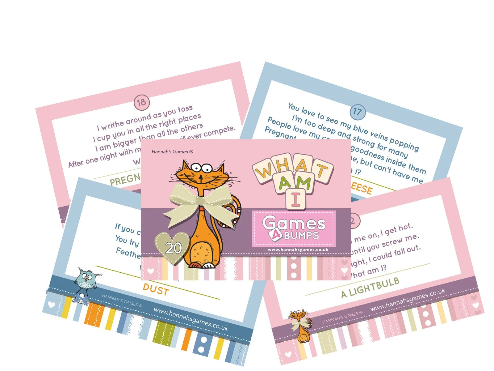Baby Shower Party Game WHAT AM I innuendo Riddles Baby Shower Etsy