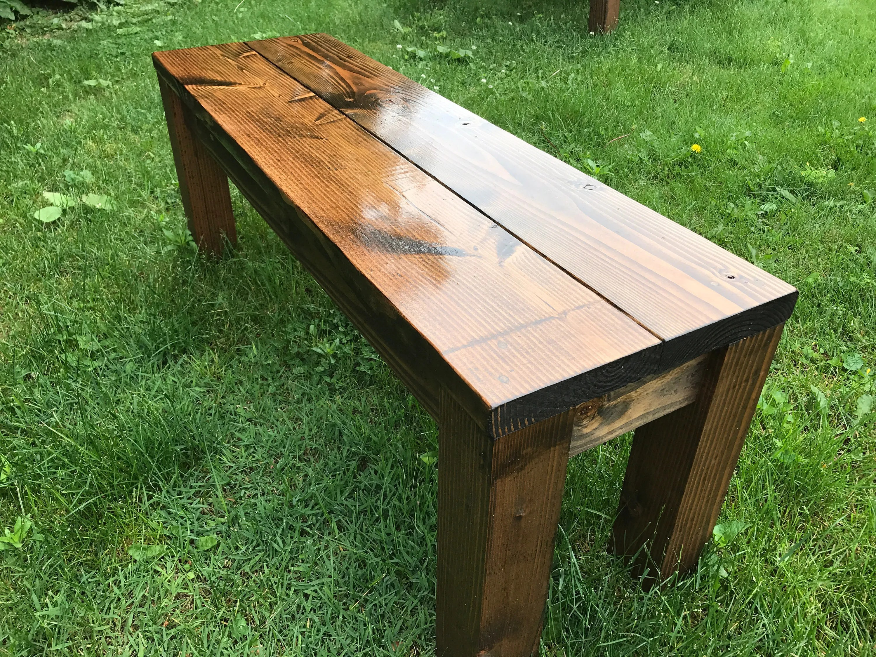 Wooden Bench Table Rustic Bench Farm Bench Farmhouse Bench Farm Table Bench Wood Bench Wooden Bench Dining Room Bench Entryway Bench Farm Decor