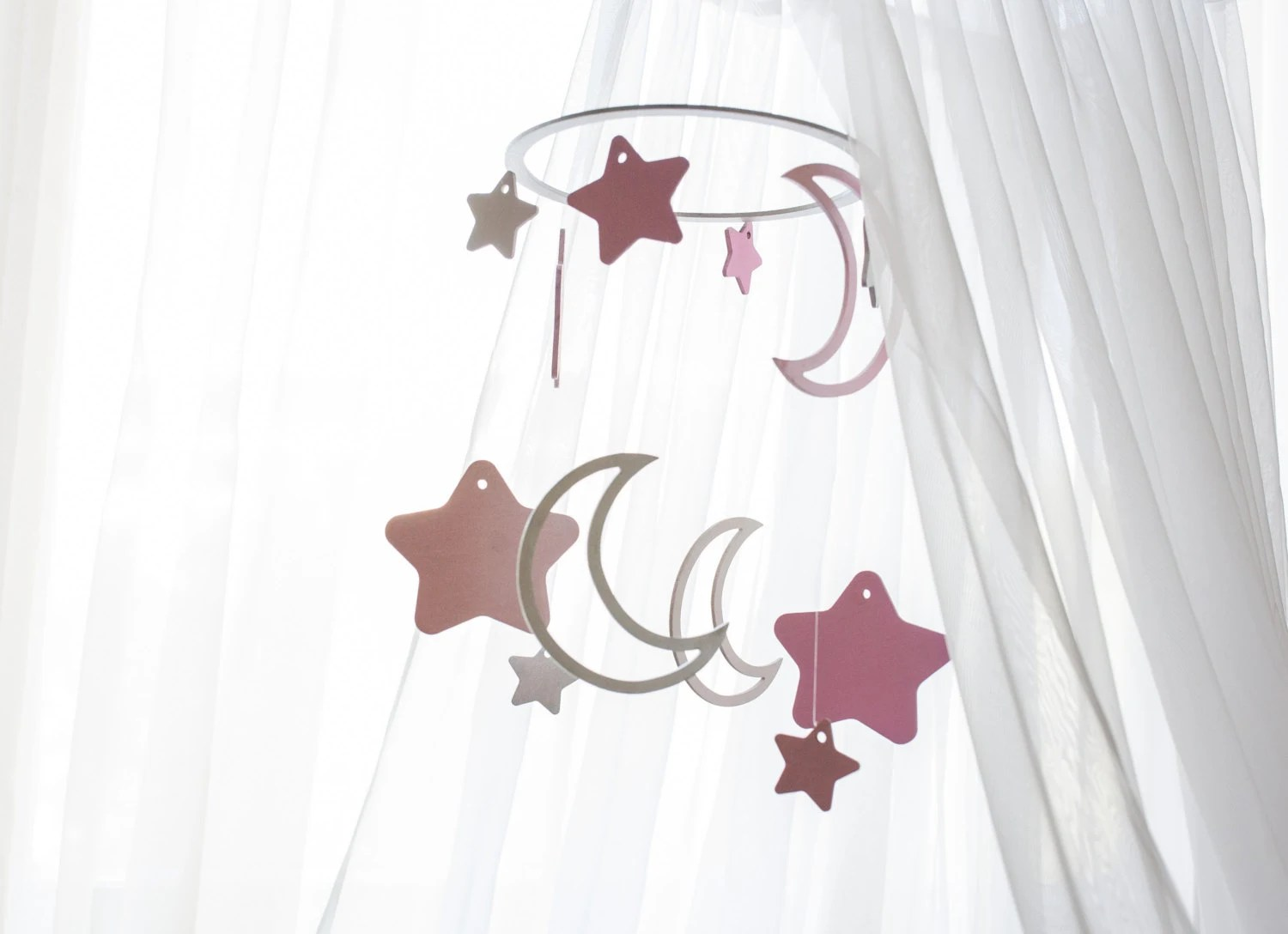Wooden Baby Mobile Wooden Baby Mobile Celestial Moon Mobile Baby Mobile Moon Crib Mobile Moon Stars Baby Mobile Baby Mobile Stars