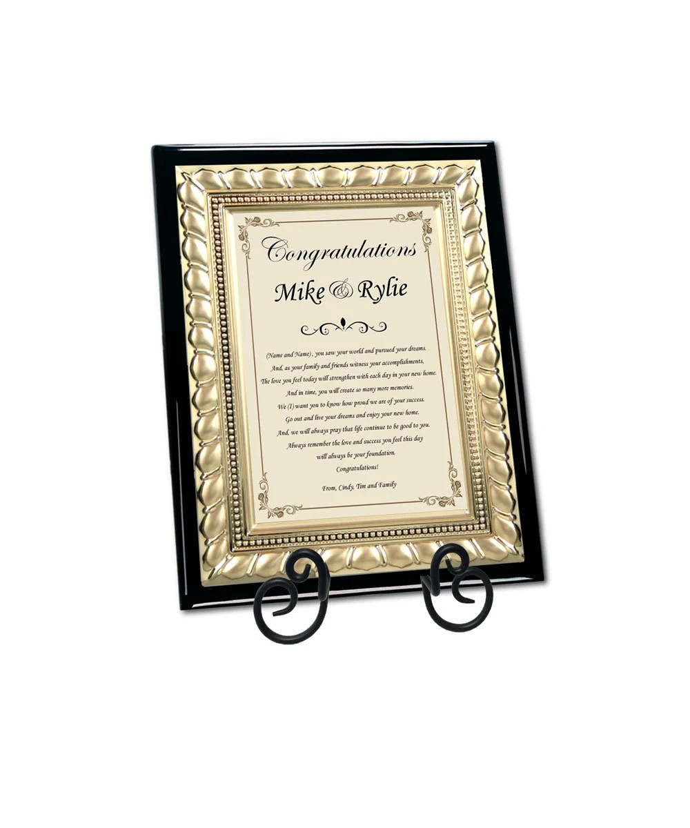 Best Gifts For New Homeowners Traditional Housewarming Best Wishes Plaque New Homeowner Gifts