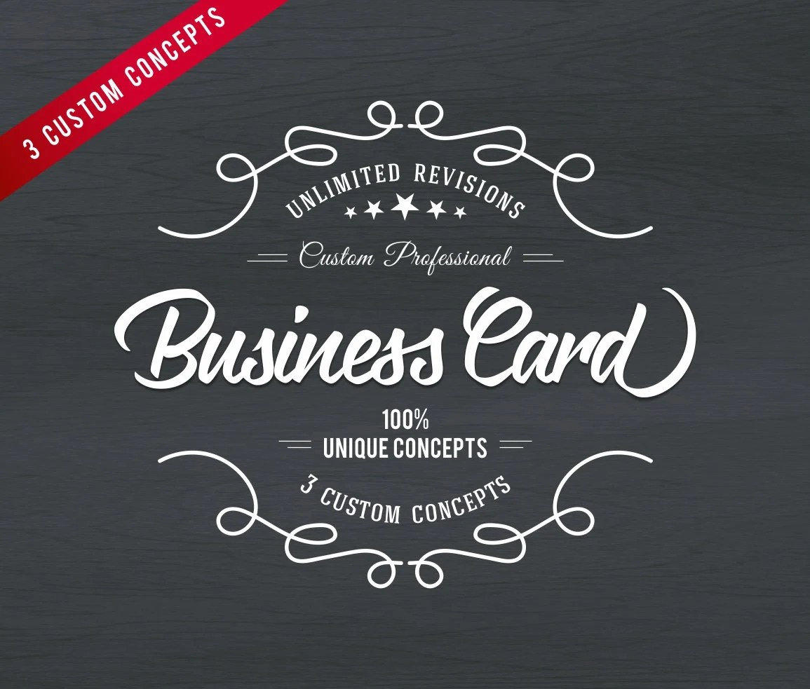 Business card Business card design Vertical Business card Etsy