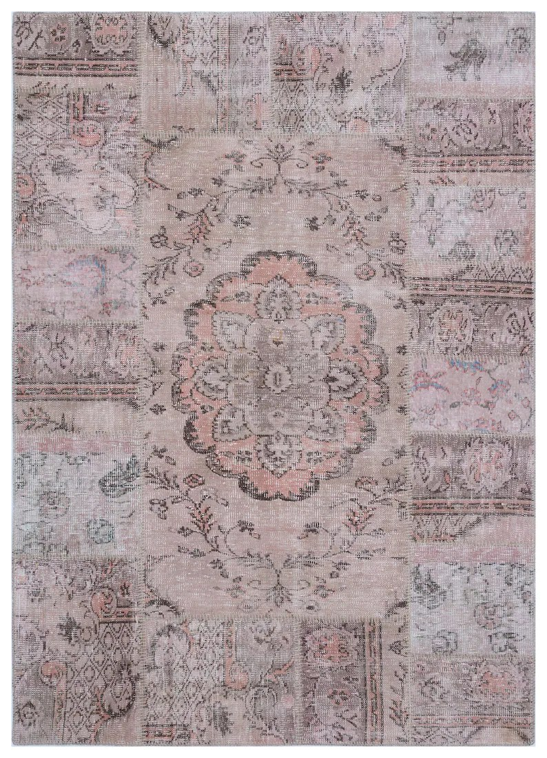 Modern Living Teppich Patchwork Rugs 5 57 X 7 87 Ft Turkish Rug Area Rugs Office Decor Floor Rug Wool Modern Rug Living Room Rug Alfombra Patchwork Carpet Teppich