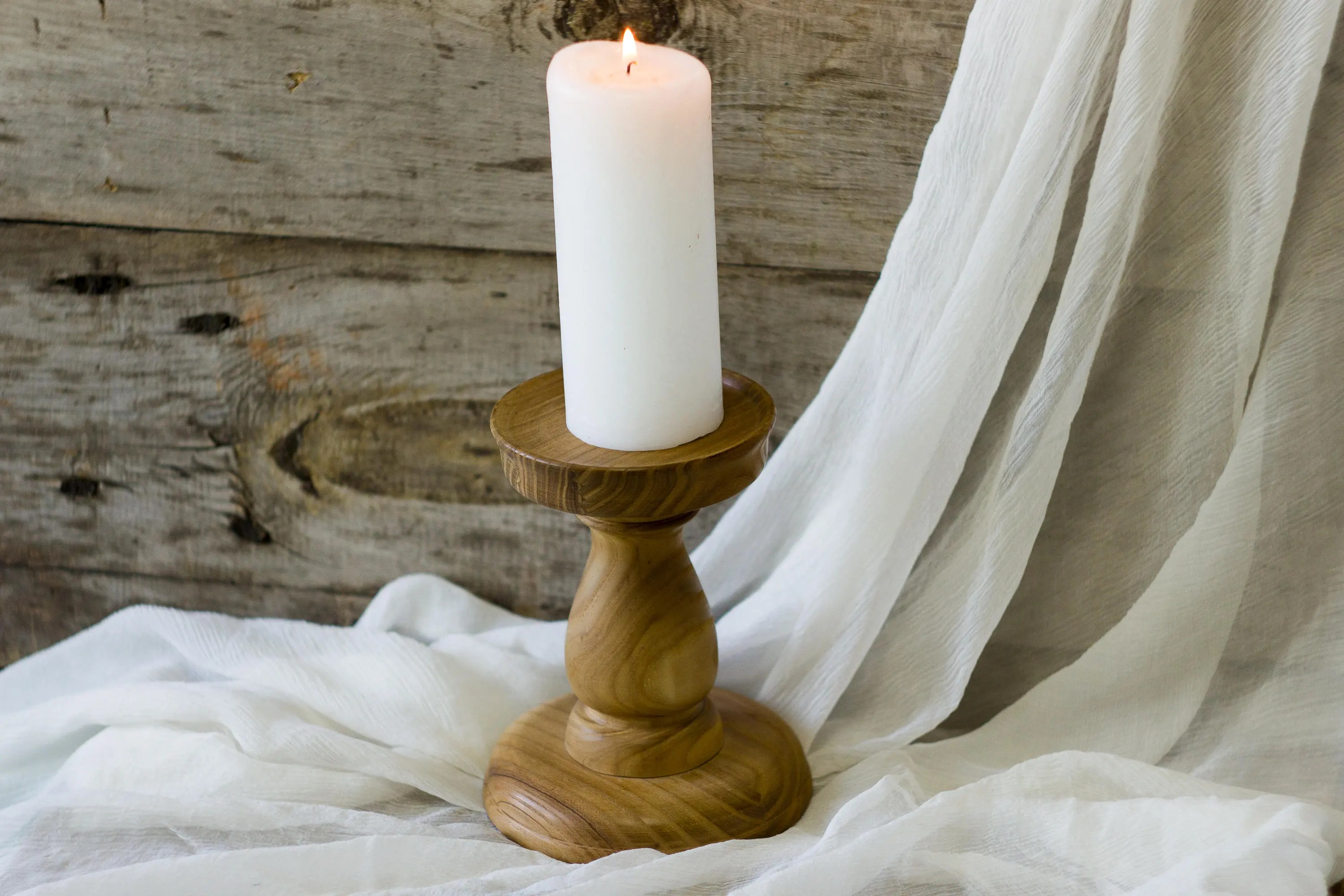 Wooden Candle Holders Australia Wooden Candle Holder Rustic Natural Wood Decor Handmade