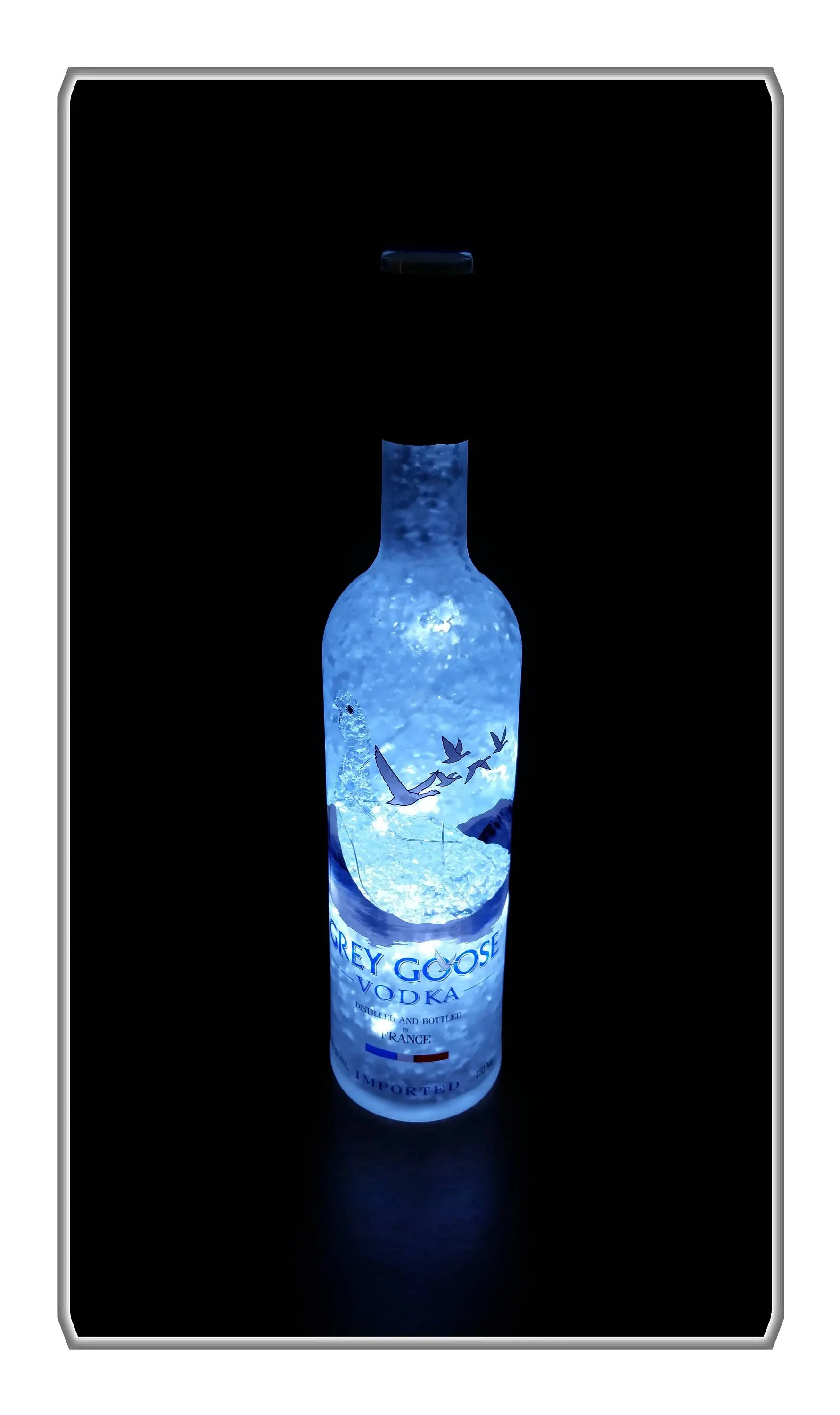 Chambre Complete Led Grey Goose Lemelon Brand Vodka Led Bottle Lamp 50 Hrs On One Battery Pack Perfect Forweddings Bar Lounge Home Decor Club