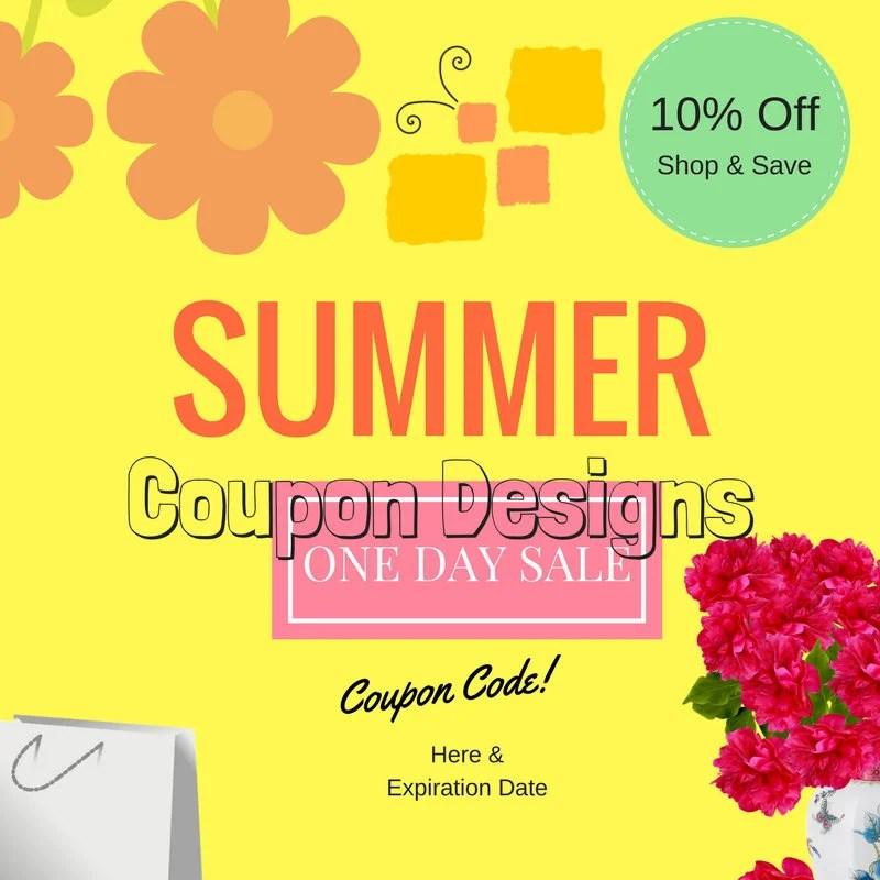Items similar to Design a Coupon, Shop  Save Banner, Etsy Shop