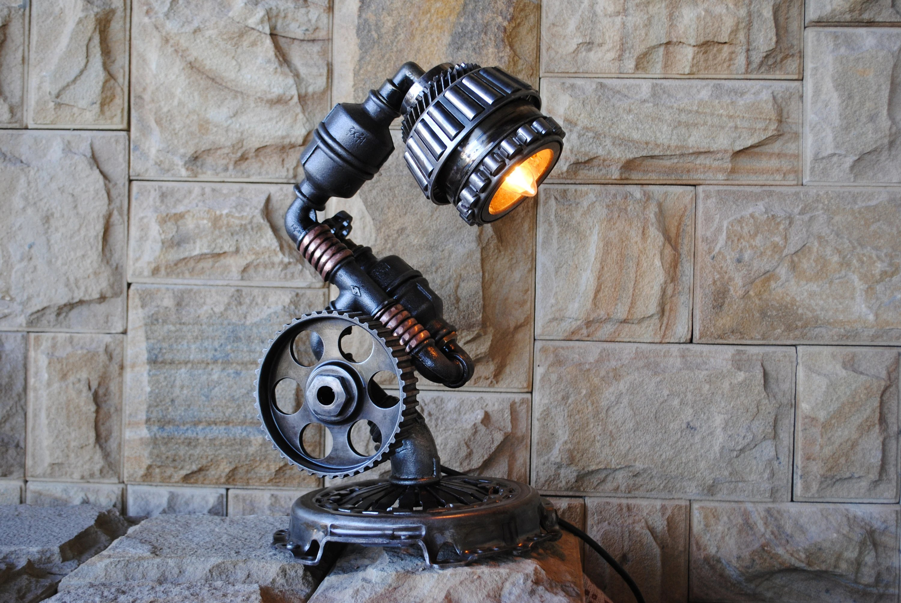 Lampe Industrial Design Cool Industrial Lamps St Patrick S Day Gift Industrial Bedside Table Lamp Lampe Industrial Design Pipe Lamp Design Steampunk Vintage Lamps
