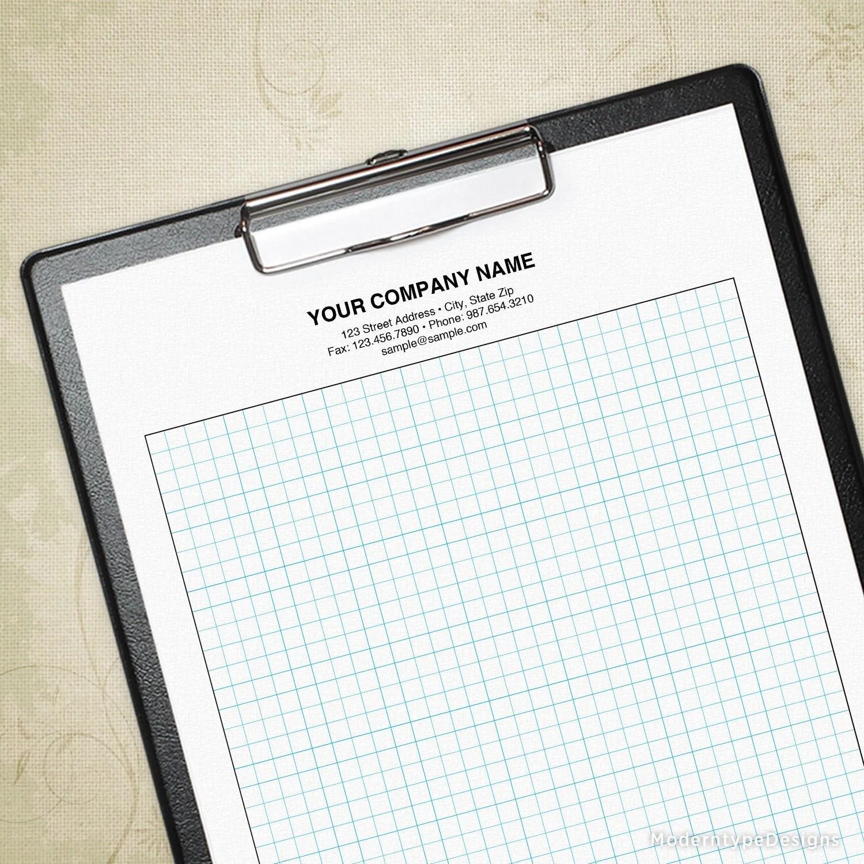 Graph Paper Printable Sheet Drawing Sheet Sketch Pad Grid Etsy