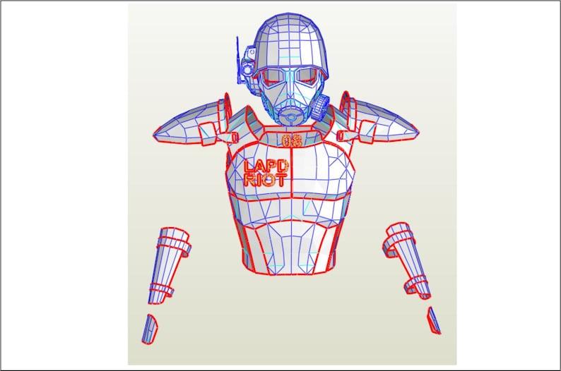 Fallout NCR Veteran Ranger armor foam templates Etsy