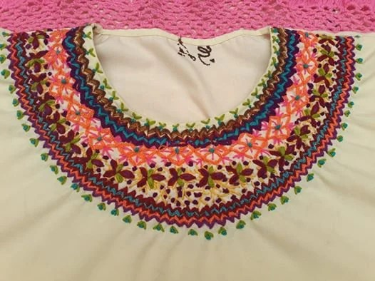 Embroidery Mexican Blouse White Mexican Blouse Mexican Etsy