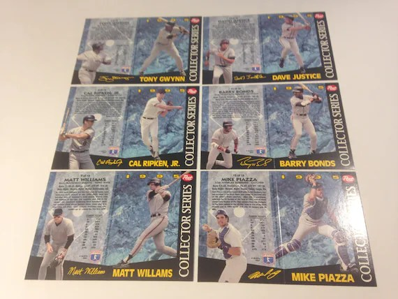 1995 Collector Series by Post Complete 16 Player Set Baseball Etsy