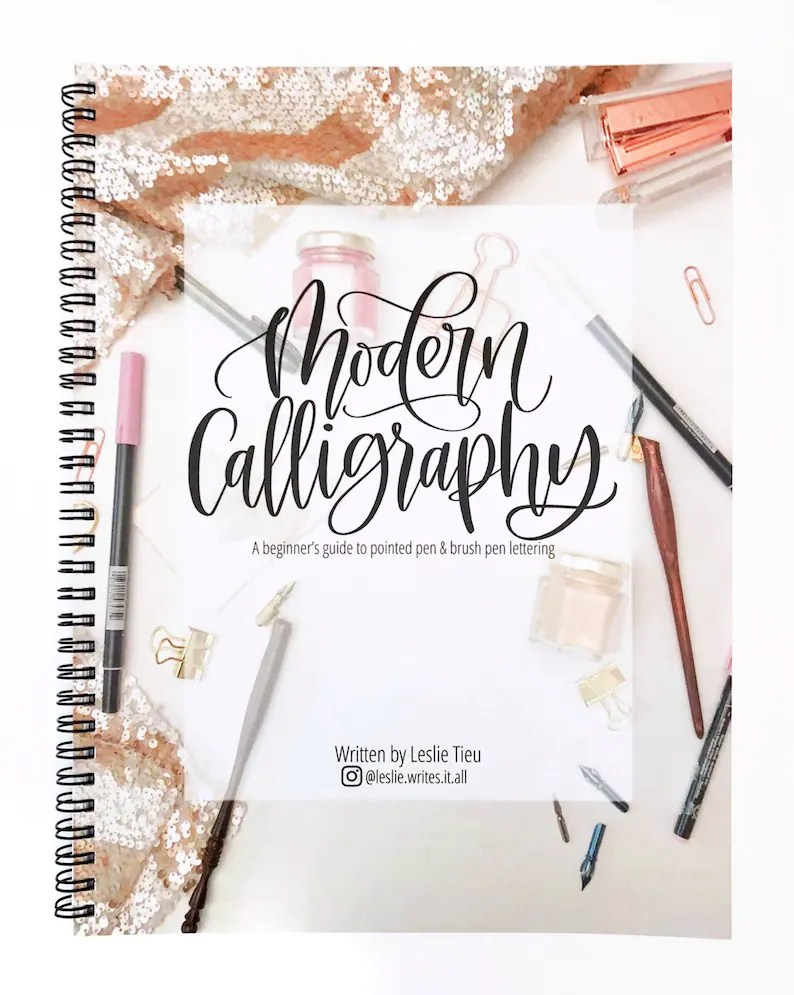 Wedding Calligraphy A Guide To Beautiful Hand Lettering Modern Calligraphy Kit Includes 1 Book And 2 Pens