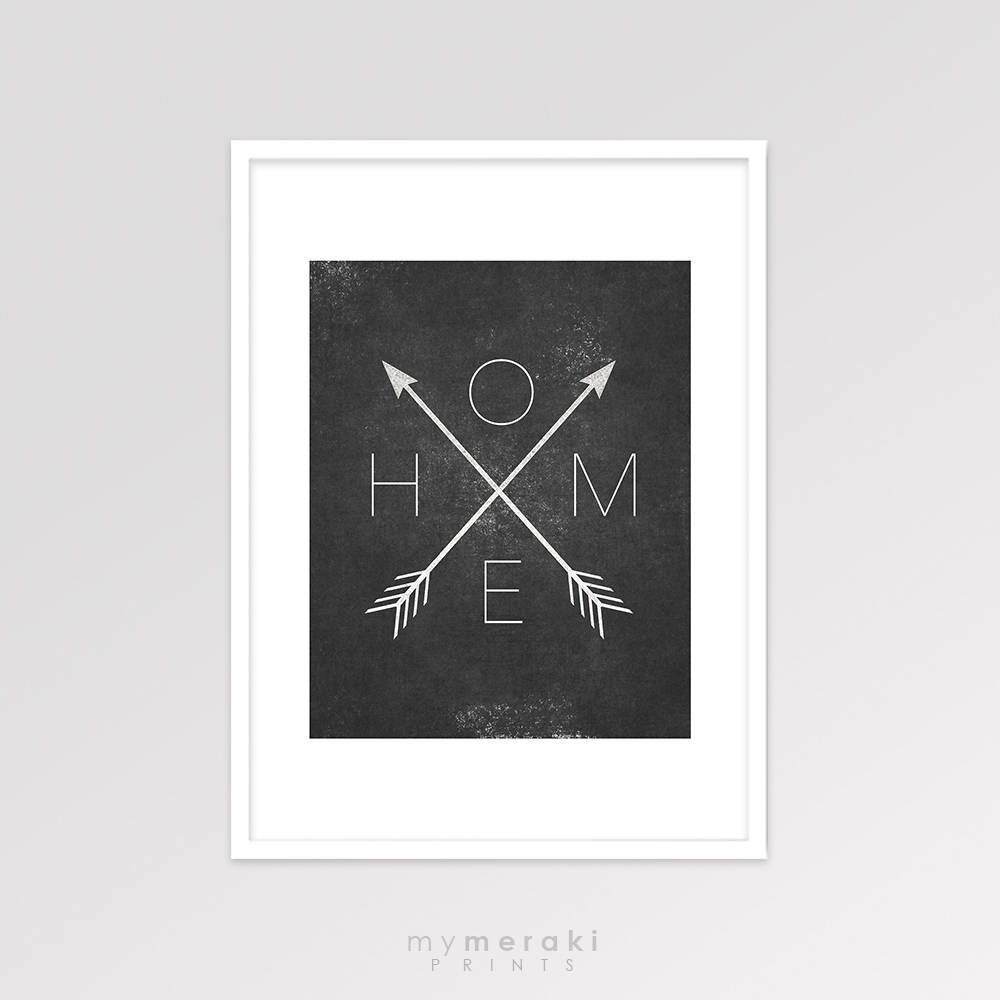 Affiche Scandinave Home Home Arrow Print Arrow Home Sign Decor Affiche Scandinave Home Arrows Black And White Printable Art Minimalist Artwork Wall Poster