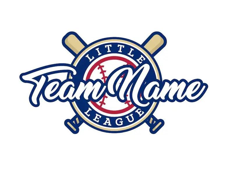 Baseball Logo Little League Logo Custom Logo Premade Logo Etsy