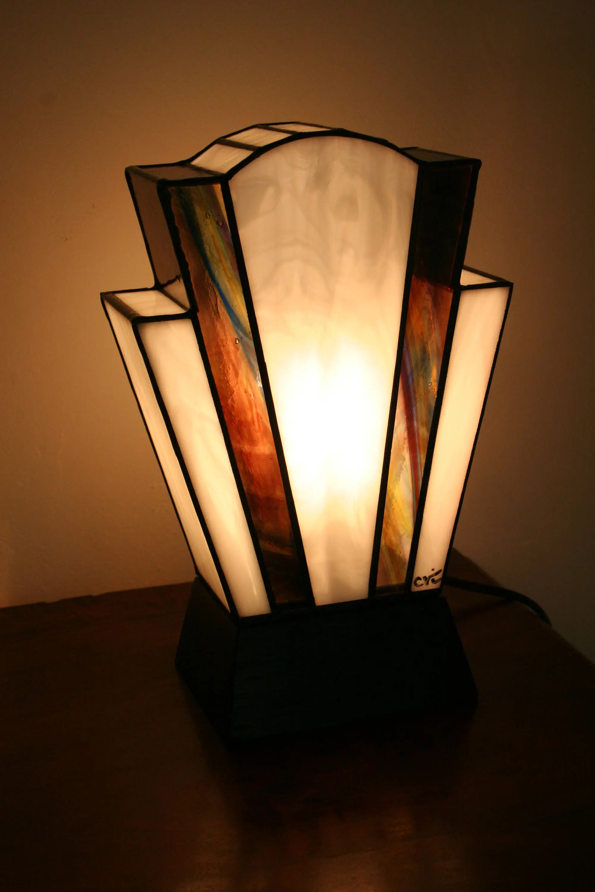 Glass Lamp Art Tiffany Lamp Art Deco Stained Glass Tiffany Lamp Table Nude