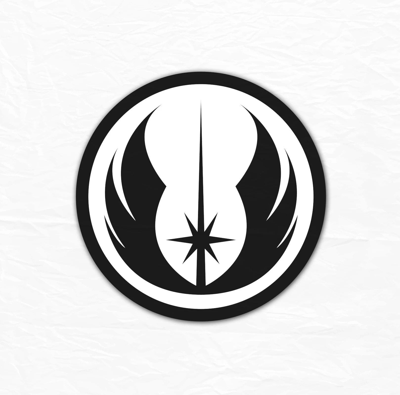 Star Wars Jedi Logo SVG Jedi order cut file printable Etsy