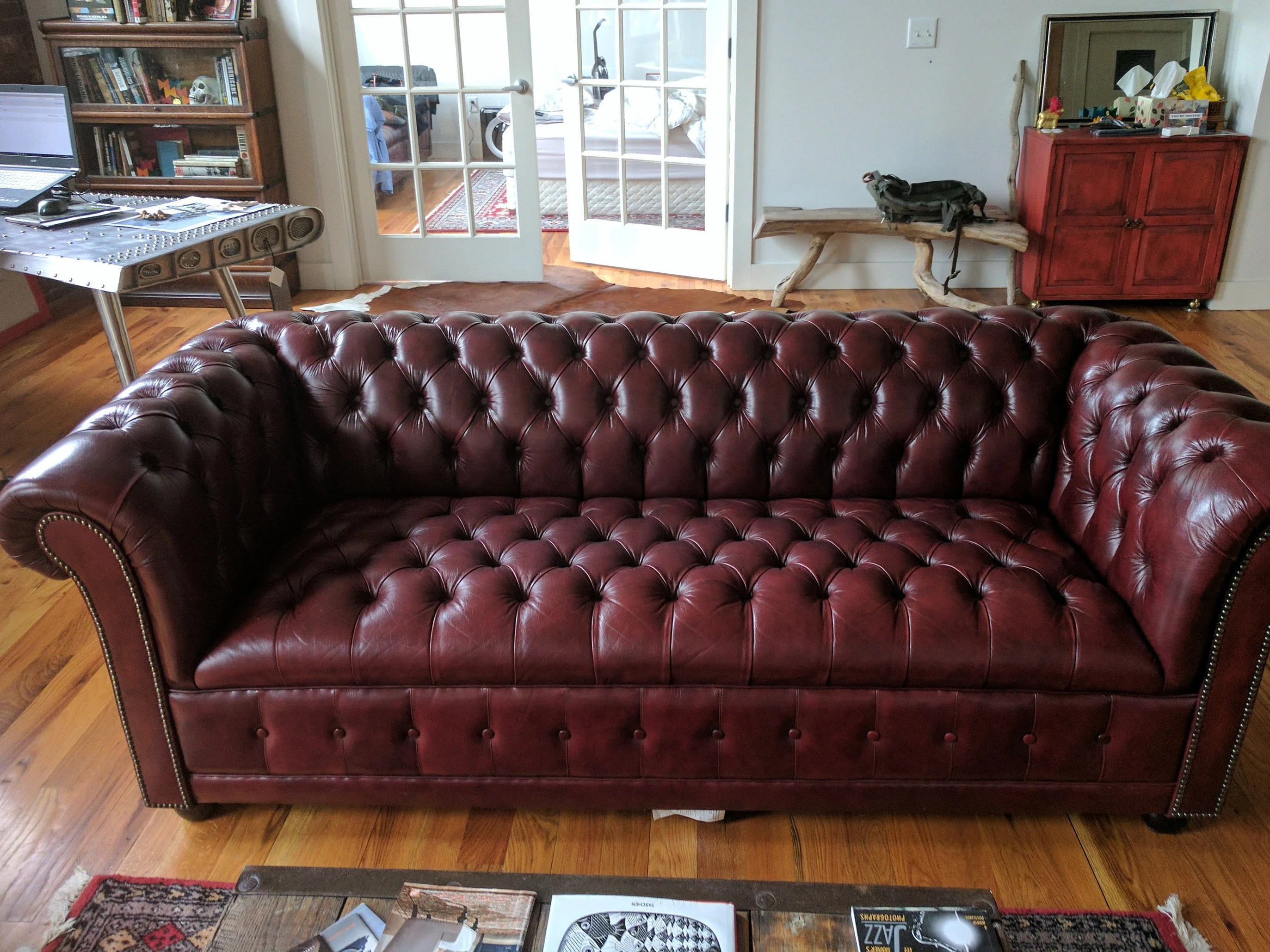 Chesterfield Sofa Japan Not Available Sold Leather Chesterfield Sofa