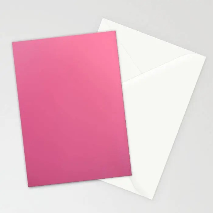 Pink Stationary Set Pink Note Cards Blank Stationary Set Etsy