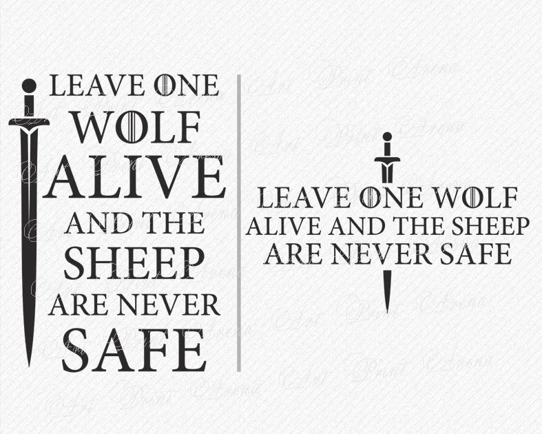 When The Snow Falls And The White Wind Blows Wallpaper Game Of Thrones Quote Svg Lone Wolf Dies But The Pack Etsy