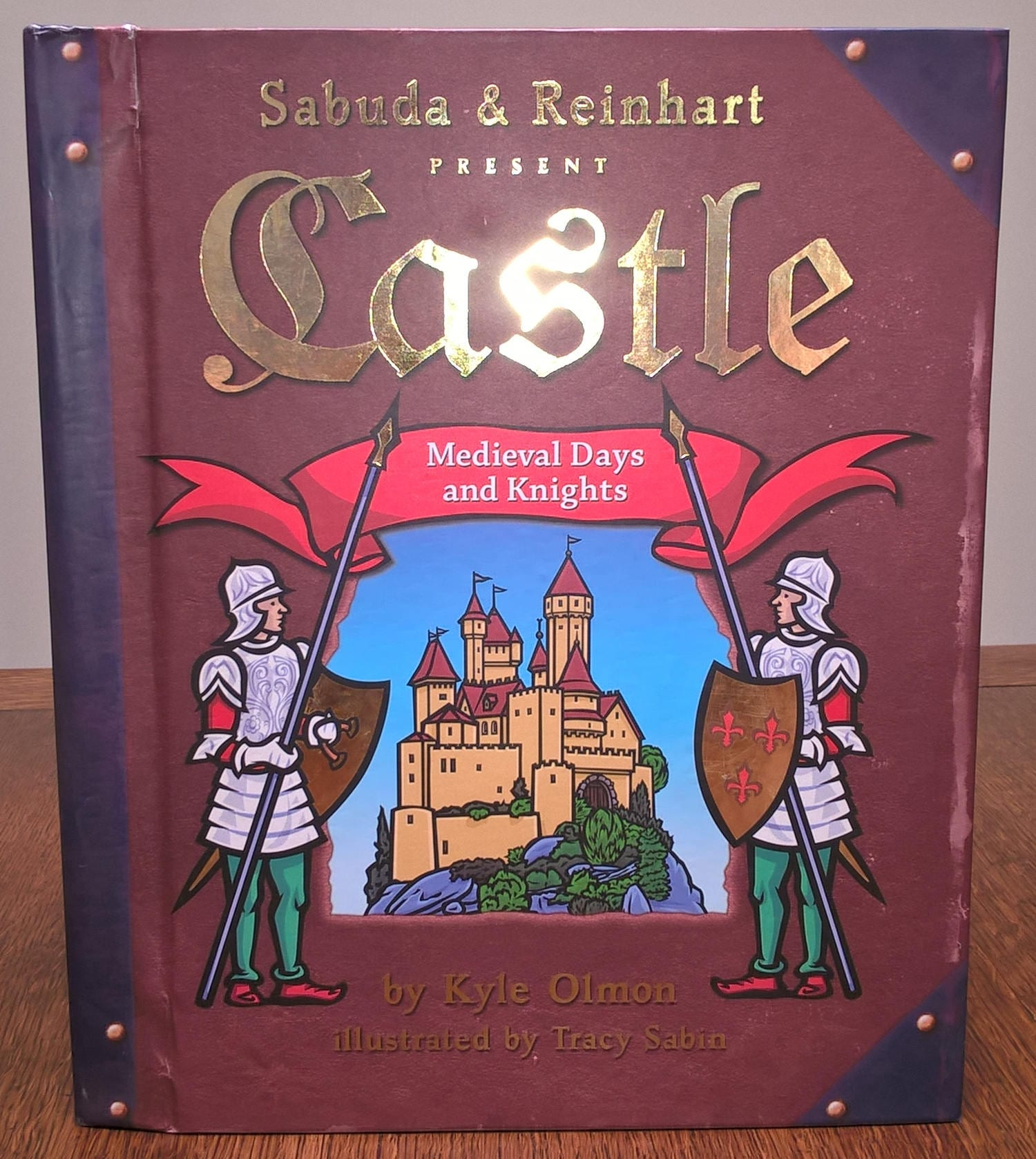 Pop Up Book Cover Castle Medieval Days Knights By Robert Sabuda First