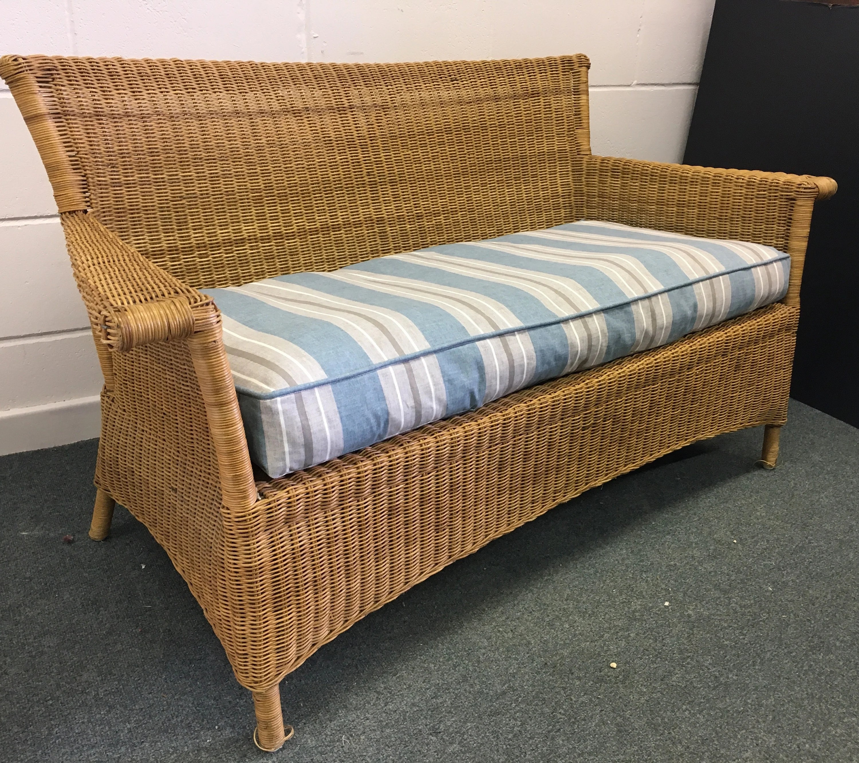 Habitat Sofa Sold Wicker Sofa Vintage Habitat Conservatory Seating Conran Rattan Chair Sold Sold
