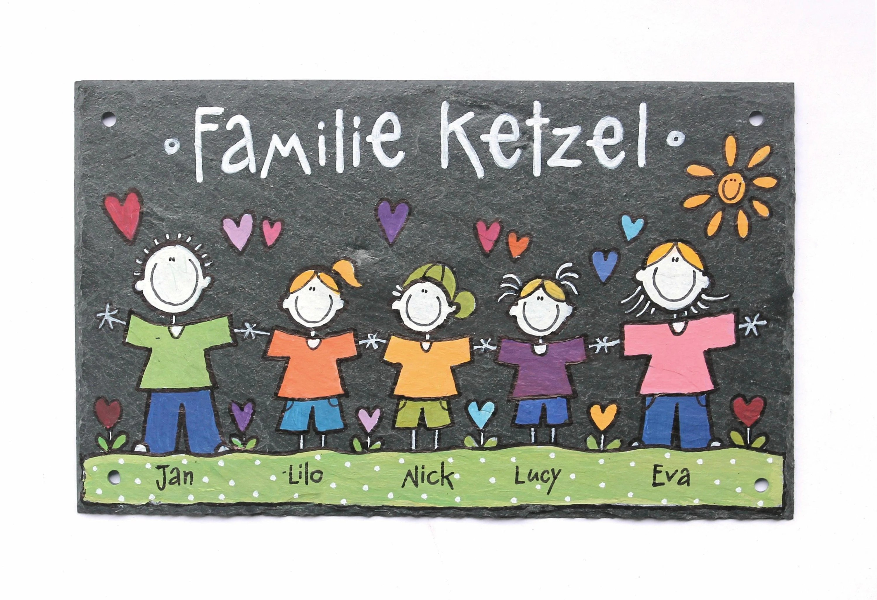 Haustürklingel Online Kaufen Door Sign Slate Family Sign Name Tag Skin Door Sign Slate Sign Hand Painted Individually Personalized Christmas