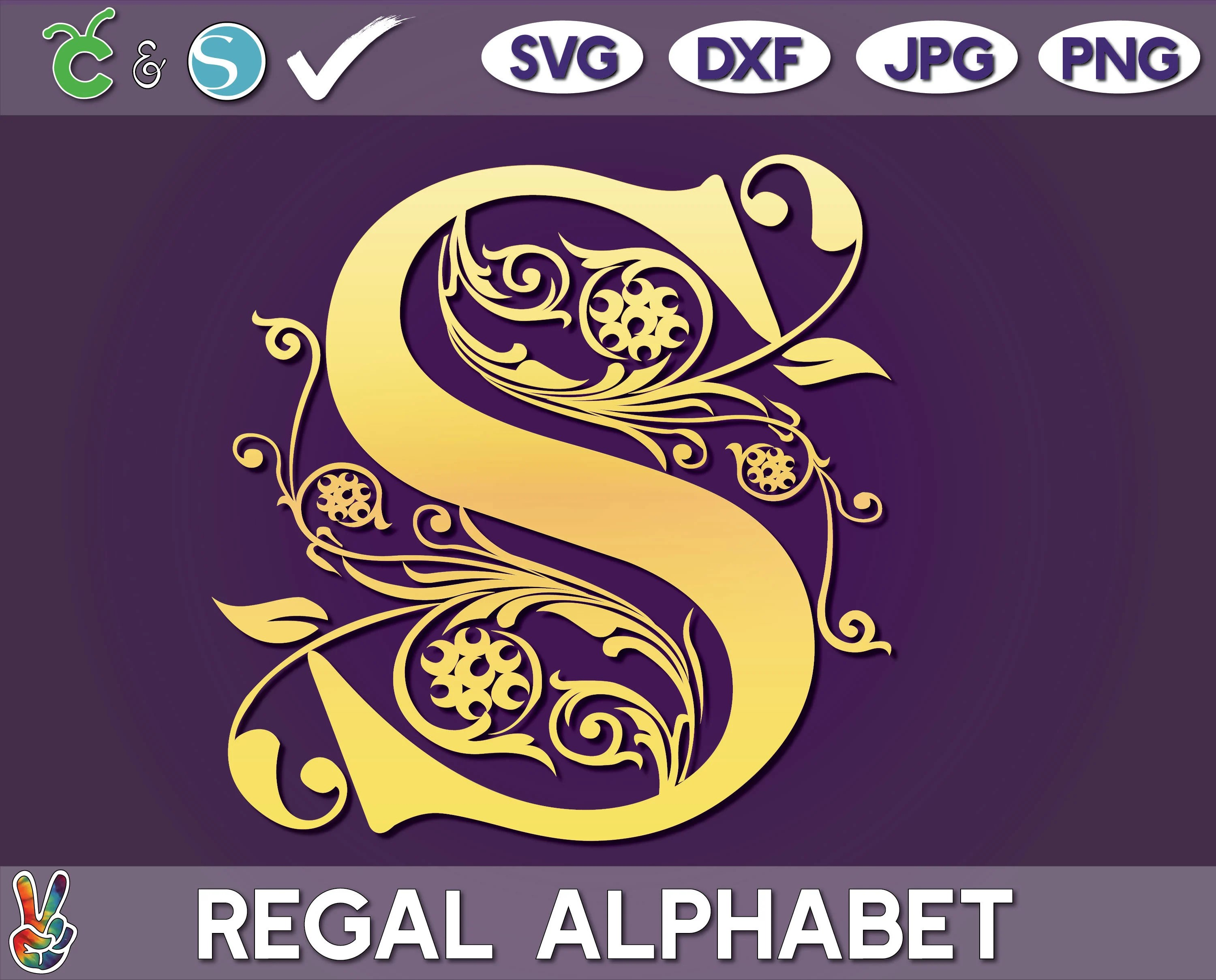 Spiegel Online Shop Logo Png Transparent Svg Vector Freebie Supply Regal Monogram Svg Monogram Vector Cricut Cut Files Family Monogram Silhouette Cameo Ready Full Set Regal Fixed Set Png Dxf Jpg