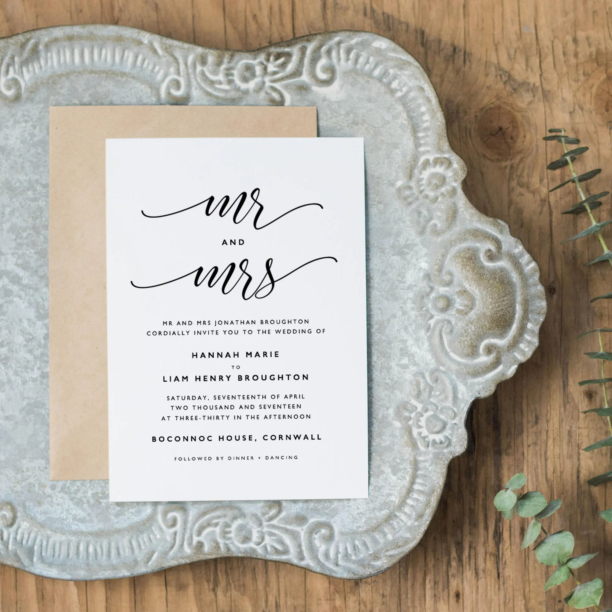 Editable Wedding Invitation Template Printable Wedding Etsy