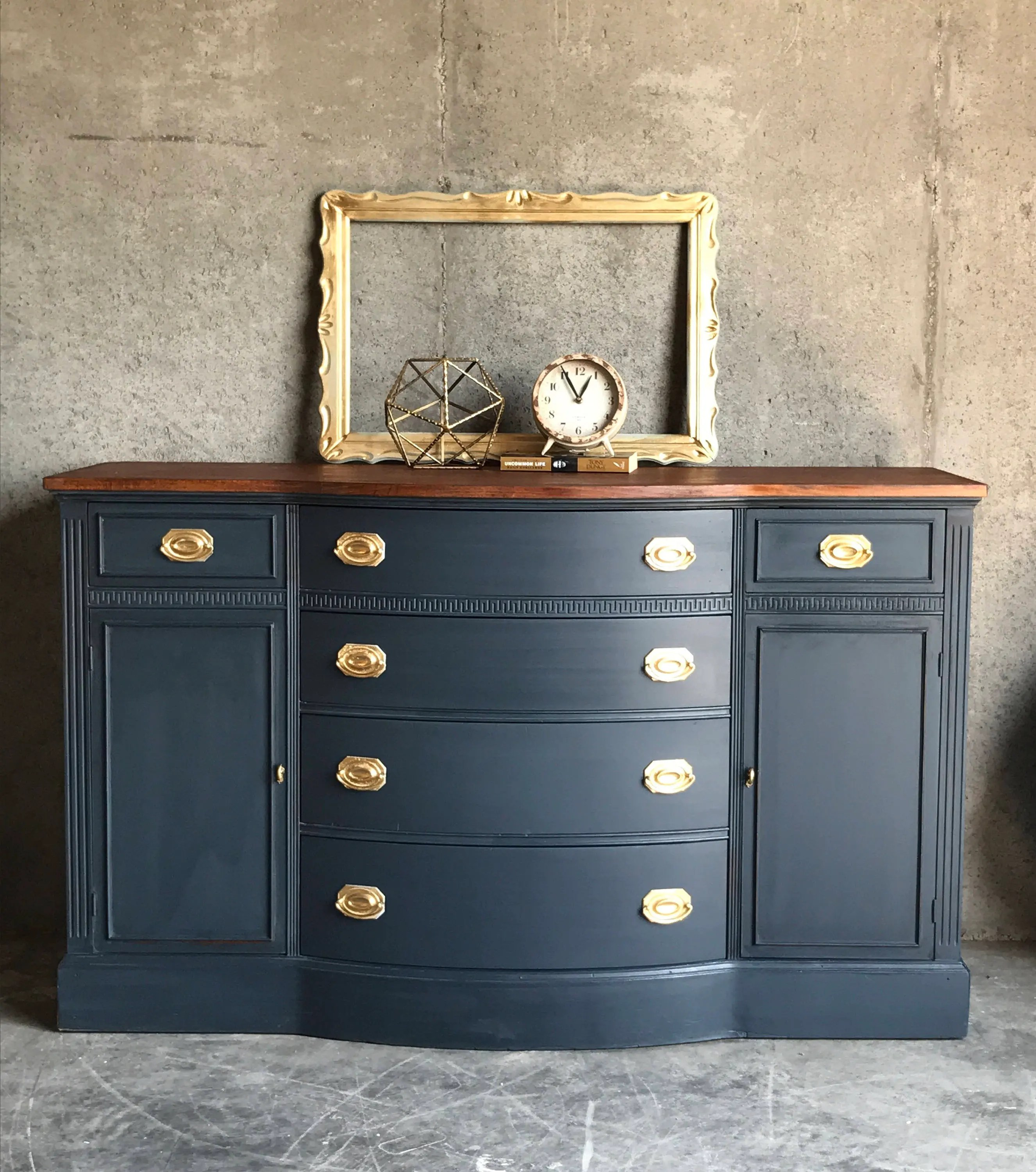 Buffet Sideboard Blue Your Custom Navy Blue Buffet Sideboard Duncan Phyfe Living Room Furniture Buffet Table Painted Buffet Painted Vanity Console Table
