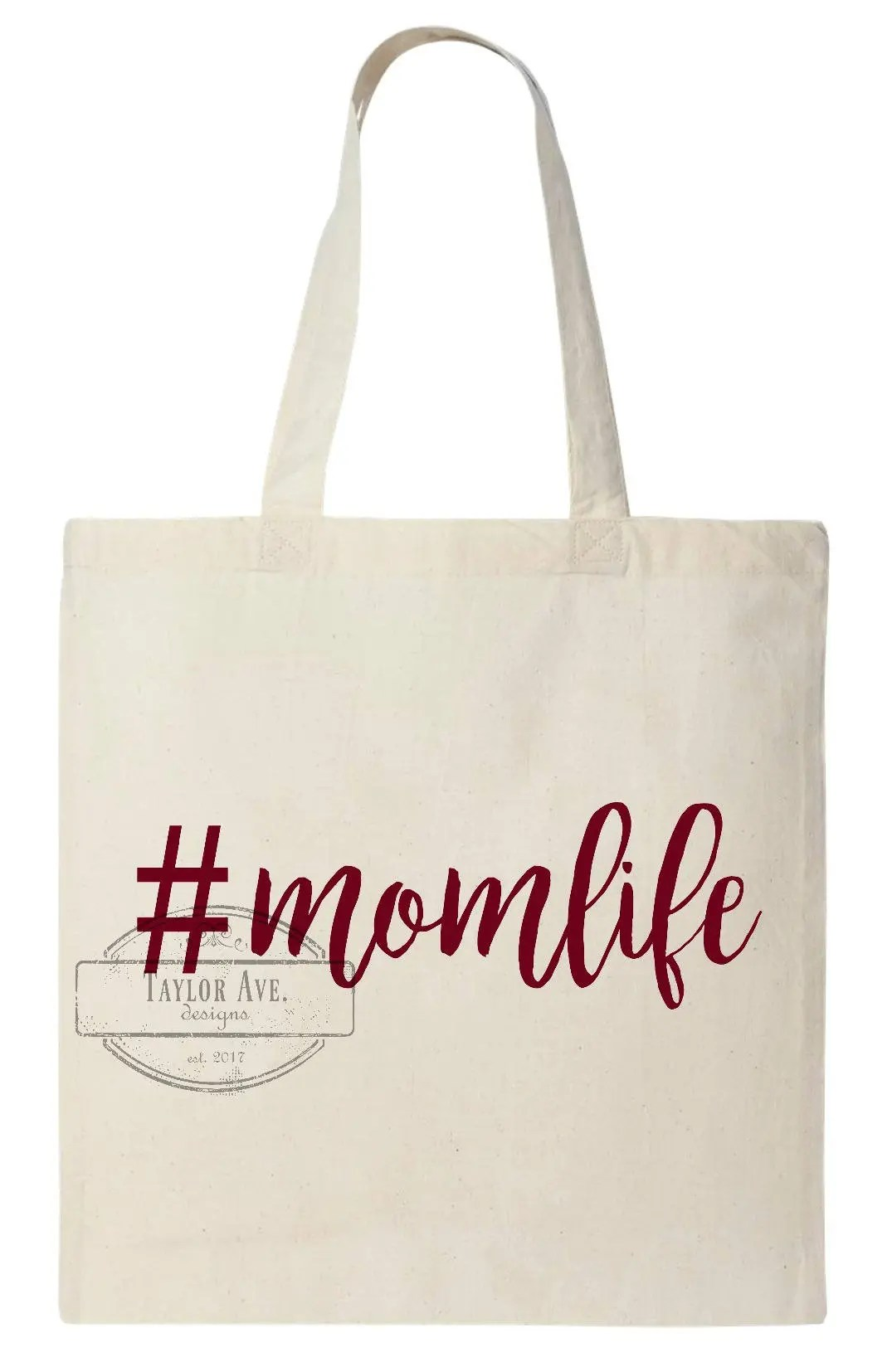 Tuinieren Hashtags Tote Bag Momlife Funny Tote Bag Trendy Hashtags Gift Giving Mother S Day Baby Shower Holidays Custom Orders Matching Set