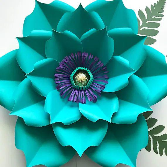 flower petal template printable