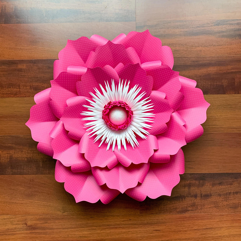 paper flower base