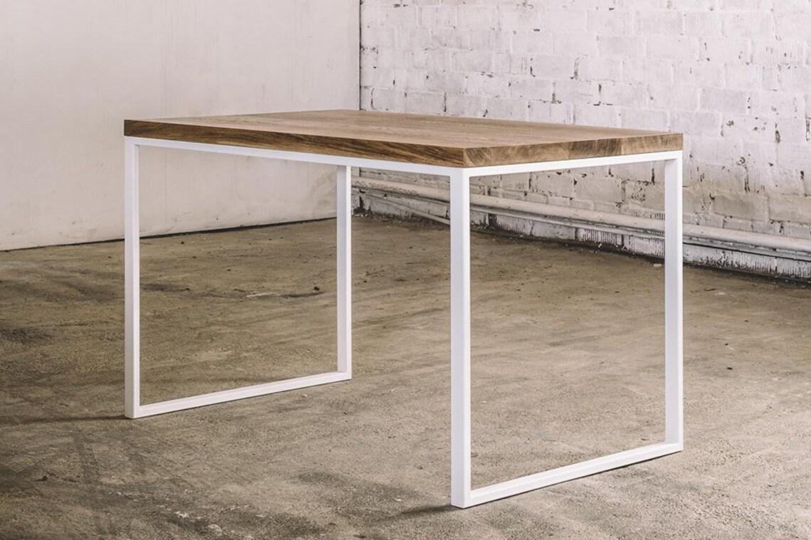 konsolentisch tabelle burotisch beistelltisch industrial mobel tischbeine aus metall table basse holz mobel eiche tisch