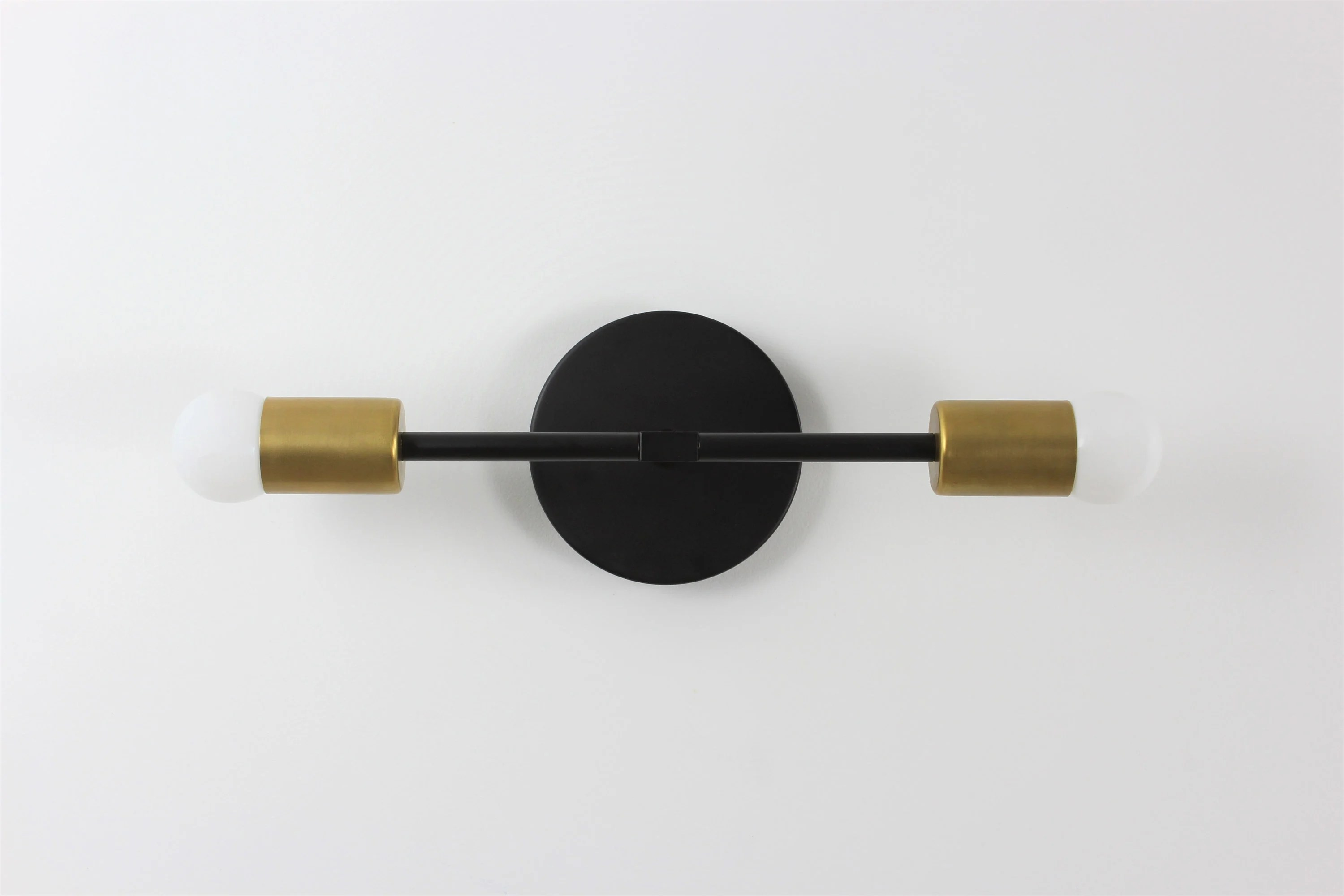 Modern Lighting Quotes Modern Wall Sconce Black Brass Wall Sconce Black And