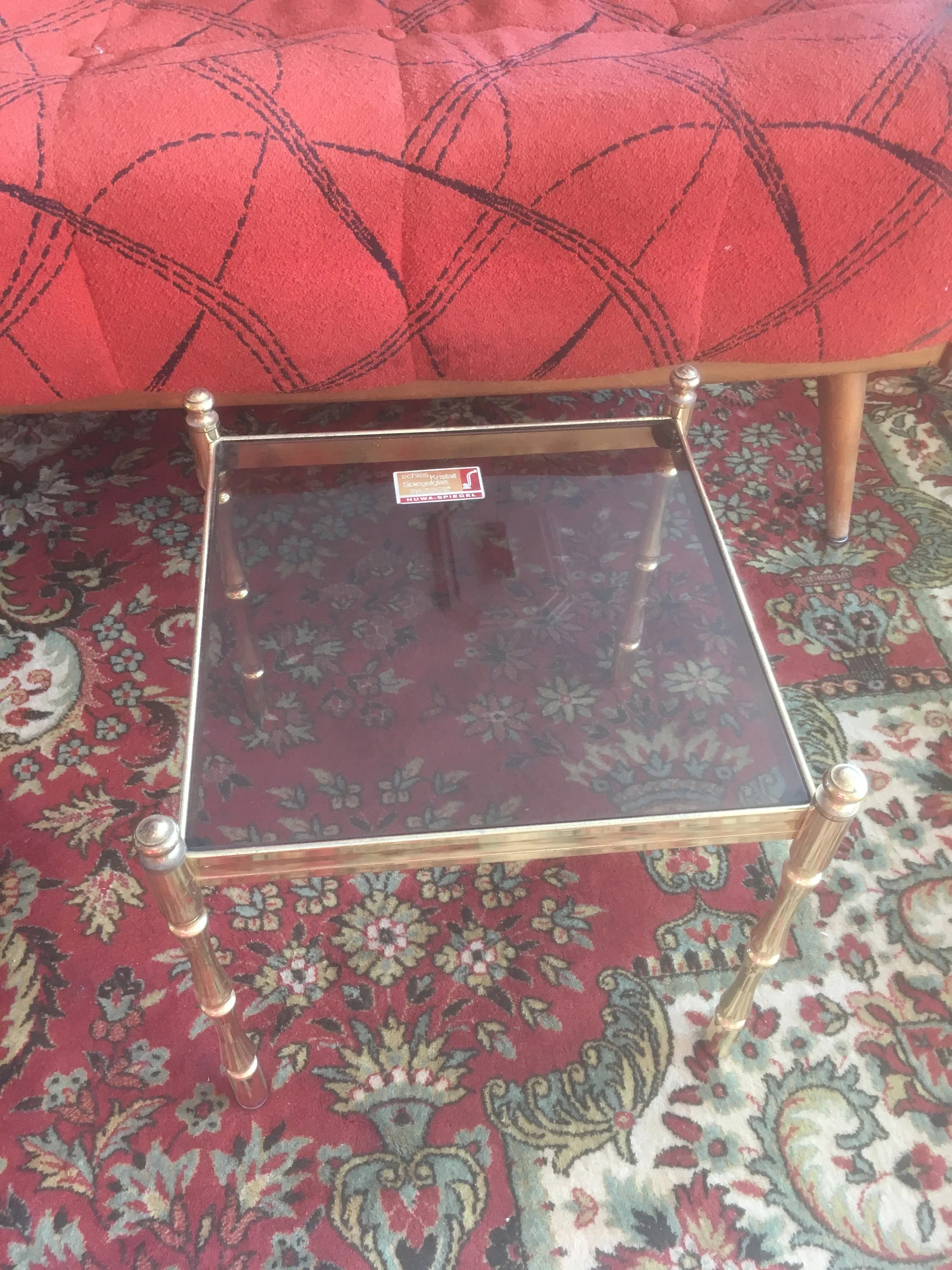 Couchtisch Oklahoma Vintage Side Table Small Table Top Table Mid Century