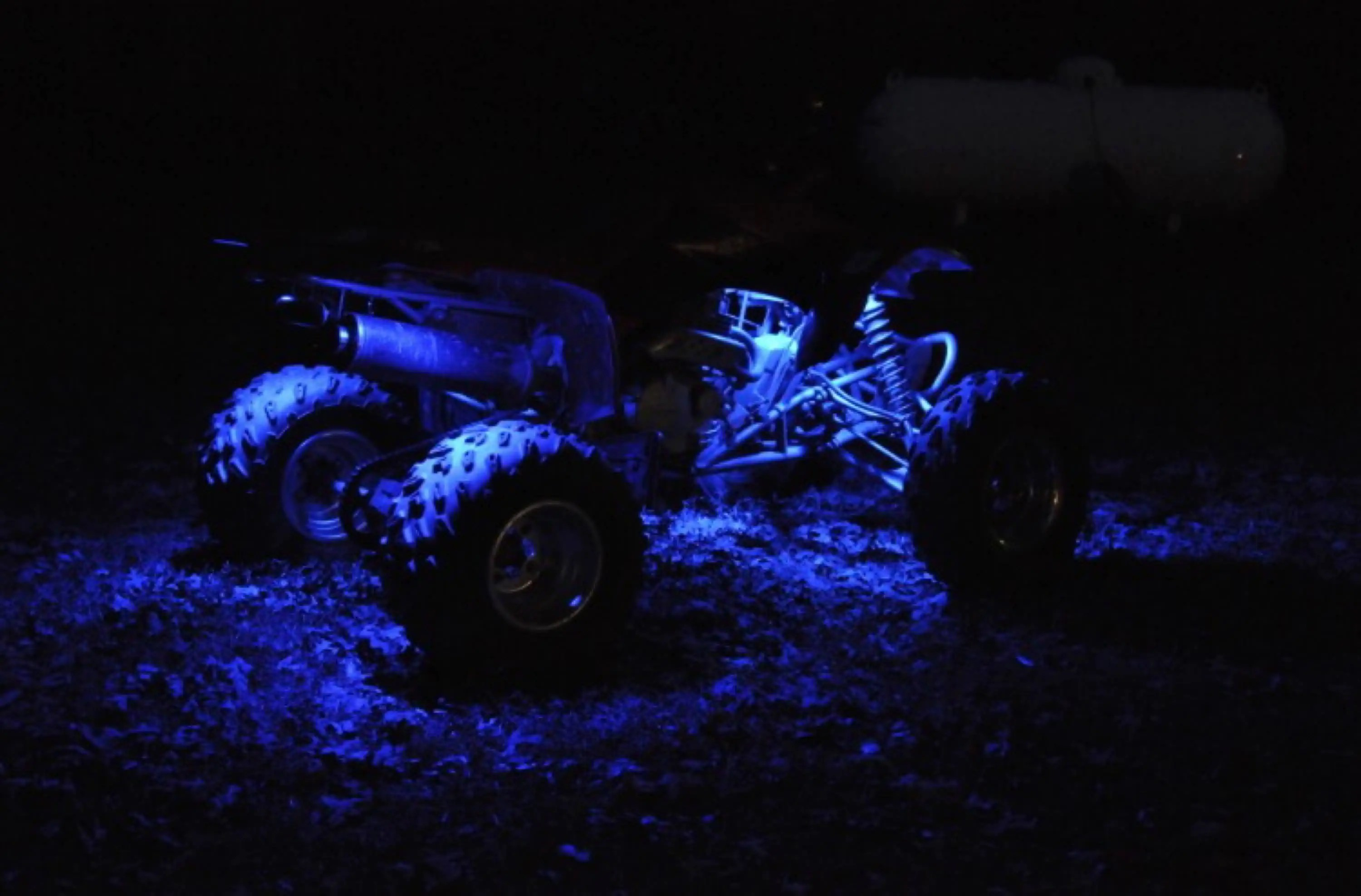12v Led Quad Blue Led 4 Wheeler Atv Underglow 12v Custom Neon Accent Lighting 1 Quad Utv 4x4 Submersible